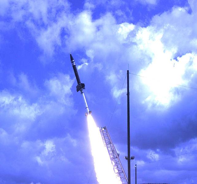 Start rakiety Terrier-Oriole / Credits: NASA