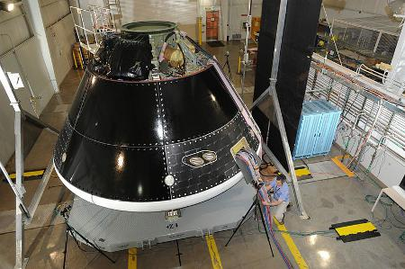 Orion Ground Test Article / Credits: NASA