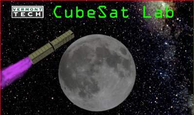 Wizualizacja księżycowego Cubesata 6U / Credits: Vermont Technical College