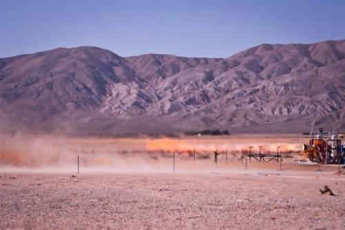 Test silnika systemu ratunkowego dla statku CST-100 firmy Boeing. Pratt & Whitney Rocketdyne posiada duże doświadczenie w pracy z silnikami rakietowymi / Credits: Pratt & Whitney Rocketdyne