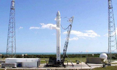 Próba tankowania rakiety Falcon 9 - 01.03.2012 / Credits - SpaceX