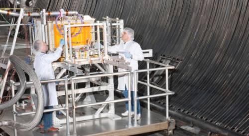 Testy platformy SCaN Testbed / Credits: NASA