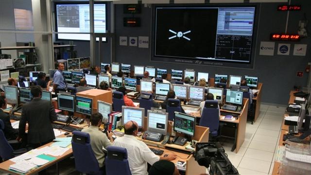 Centrum kontroli ATV w Tuluzie (ATV-CC)/Credits: ESA
