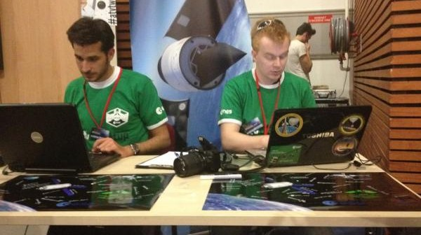 Jarek Jaworski (on the right) at the ATVtweetup / Credits - @GayaneAdourian