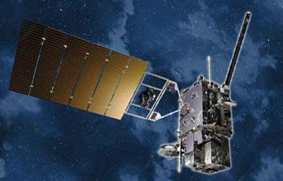 Satelita GOES-R - wizualizacja / Credits: Lockheed Martin