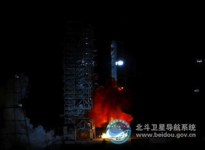 Start rakiety Długi Mars 3B, 29 kwietnia 20.50 GMT/Credits: SFN