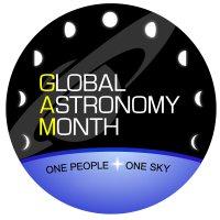 Logo międzynarodowego miesiąca astronomii / Credits - organizatorzy Global Astronomy Month