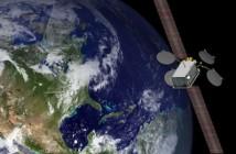 Artystyczna wizja Satmex-7 na orbicie / Credits: Boeing