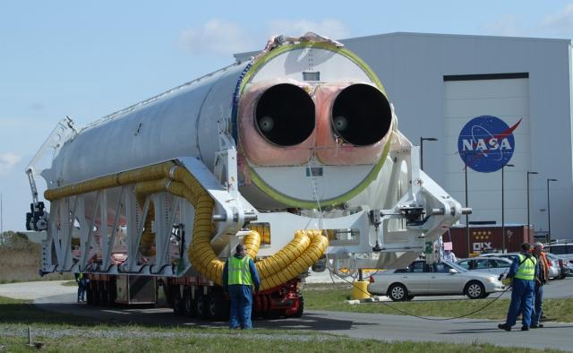 Pierwszy egzemplarz rakiety Antares firmy Orbital Sciences Corp. / Credits: NASA