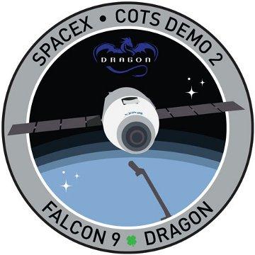 Logo misji COTS2 / Credits - SpaceX
