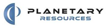 Logo firmy Planetary Resources / Credits - Planetary Resources