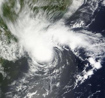 Sztorm tropikalny Alberto - 19.05.2012 / Credits - NASA, ESDIS