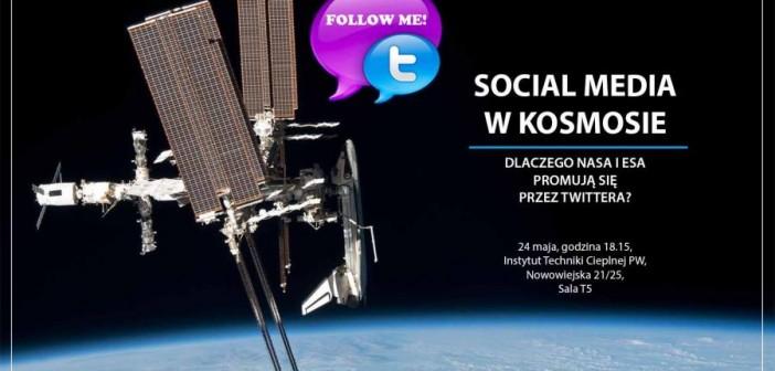 Social media w kosmosie / Credits: Jarosław Jaworski
