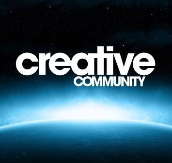 Grafika stowarzyszenia Creative Community / Credits - Creative Community