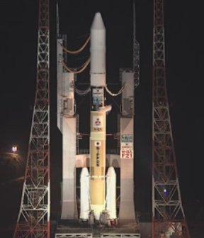 H-II przed pierwszym komercyjnym startem, 17 maja 2012 roku / Credits: JAXA