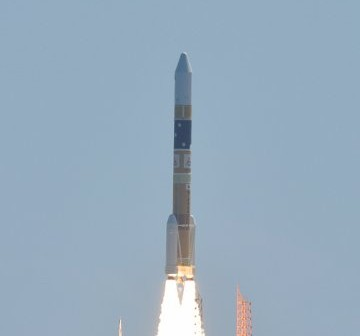 Start japońskiej rakiety H-2A / Credits - JAXA