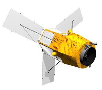 Satelita KOMSat-3 / Credits - KARI