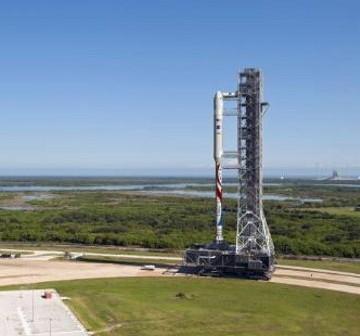 Wizja artystyczna rakiety Liberty / Credits: ATK, NASA