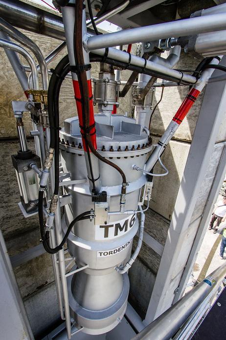 Widok na silnik TM65. Credit:Thomas Pedersen