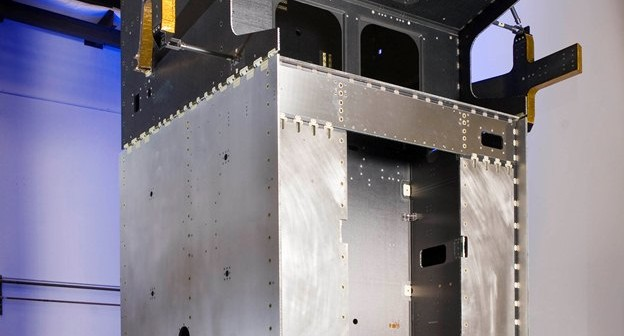 Szkielet satelity SBIRS GEO-4 / Credits: Lockheed Martin
