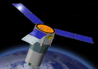 TacSat-3 - wizualizacja / Credits: Swales Aerospace