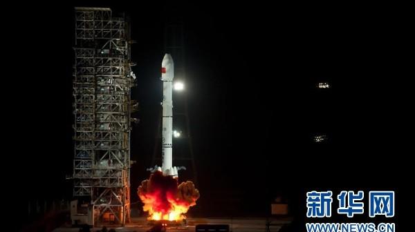 Start CZ-3B z satelitą wojskowym Zhongxing-2A / Credtis: news.cn