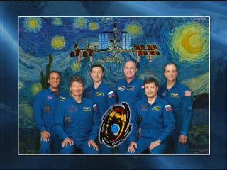 Aktualnie przebywająca na ISS załoga Ekspedycji 31 / Credits - NASA TV