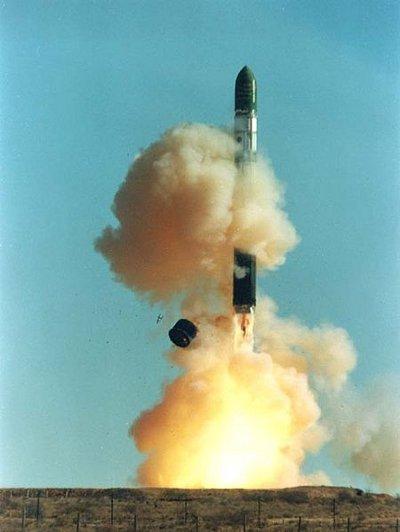 Start rakiety Dniepr / Credits: ISC Kosmotras