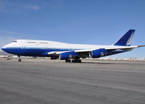 Jeden z Boeingów 747 zakupionych przez Stratolaunch Systems. Credit: Stratolaunch Systems