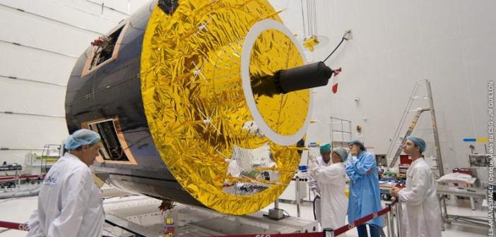 Satelita MSG-3 / Credits: ESA-CNES-Arianespace