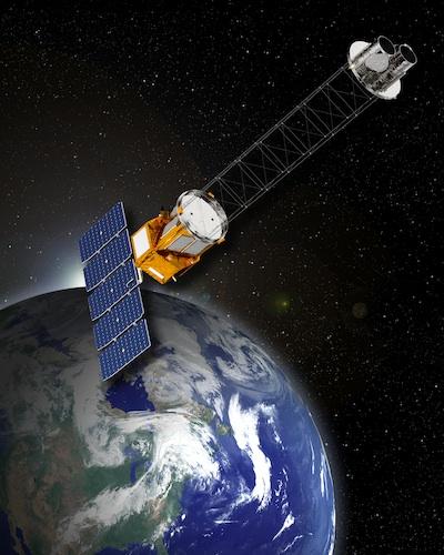 GEMS - wizja artystyczna / Credits: NASA