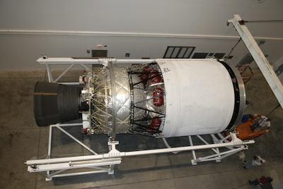 Górny stopień rakiety Delta IV - DCSS (Delta Cryogenic Second Stage) / Credits: NASA