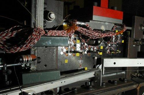 Zdjęcie testowanego elementu modułu serwisowego Oriona w ośrodku Marshall Space Flight Center / Credits: NASA/MSFC