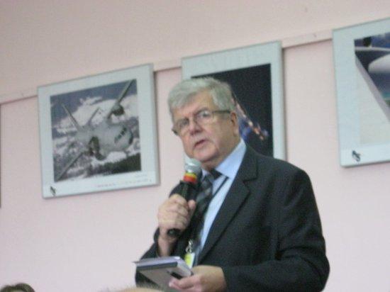 Dr inż. Witold Wiśniowski - dyrektor Instytutu Lotnictwa. Credits: Ela Zocłońska