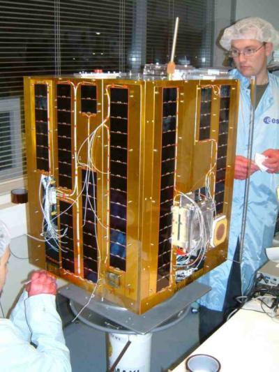 Satelita SSETI Express / Credits: ESA