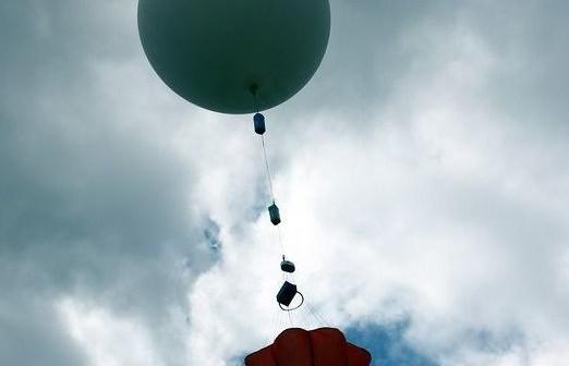 Start balonu do misji CP17 / Credits - Maciej Wierzbicki
