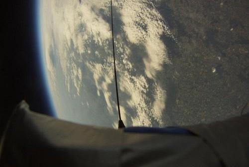 Widok na Ziemię z wysokości ponad 30 km - misja CP18 / Credits - Copernicus Project
