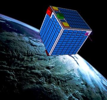 Jedna z wizualizacji satelity ESEO / Credits - Politechnika Warszawska, Jarosław Jaworski, Marcin Dobrowolski