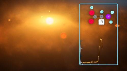 Dzięki SKA będzie można odkryć materię organiczną w kosmosie/ Credits: SKA