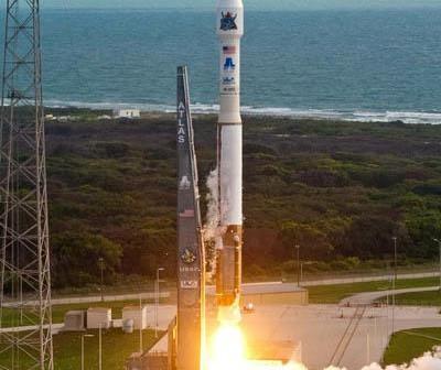 Startująca rakieta Atlas 5 z satelitą wywiadowczym NROL-38 / Credits: Pat Corkery/ULA