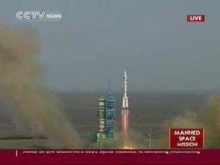 12:37 CEST - start misji Shenzhou-9 / Credits - CCTV