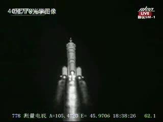 12:38 CEST - start misji Shenzhou-9 / Credits - CCTV