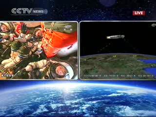 12:45 CEST - status misji / Credits - CCTV