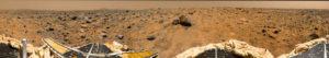 Panorama miejsca lądowania / Credits - NASA