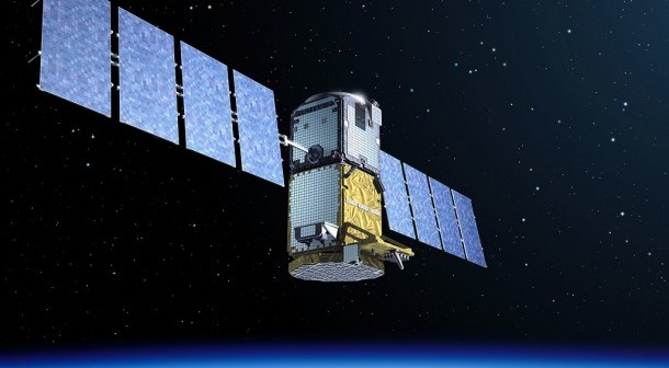 Satelita typu GIOVE / Credits: ESA