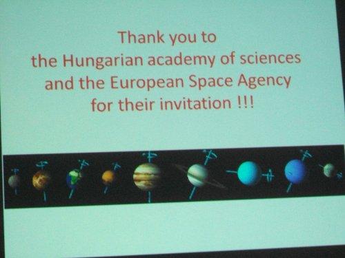 Jeden z końcowych slajdów z prezentacji przedstawionych na konferencji / Credits - Akos Kereszturi