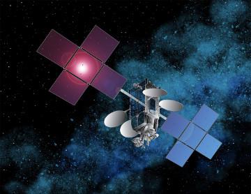 Wizualizacja satelity telekomunikacyjnego Echostar XVII/Credits: Space Systems/Loral