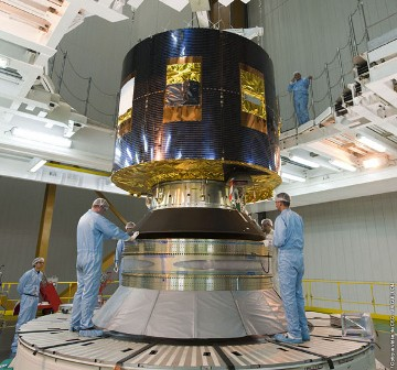 Satelita meteorologiczny MSG-3/Credits: ESA