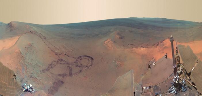 Ostatnia panorama wykonana przez Opportunity / Credits: NASA