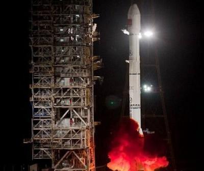 Start rakiety CZ-3C z Tianlian-1C na pokładzie / Credits - Xinhua